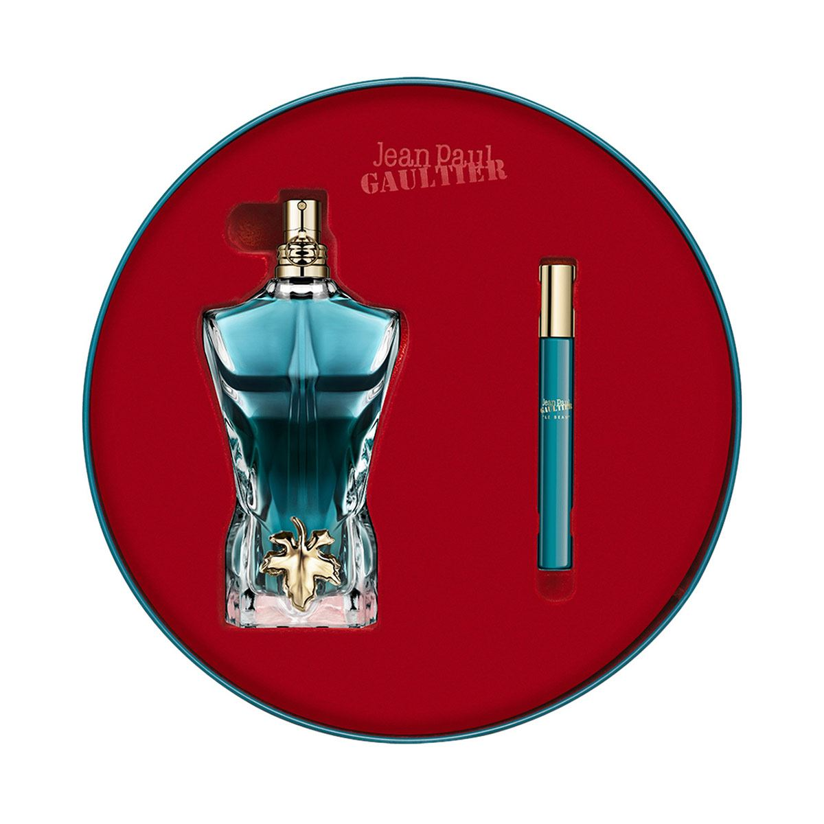 Set para caballero, Jean Paul Gaultier, Le beau, EDT125ML + travel spray 10ML