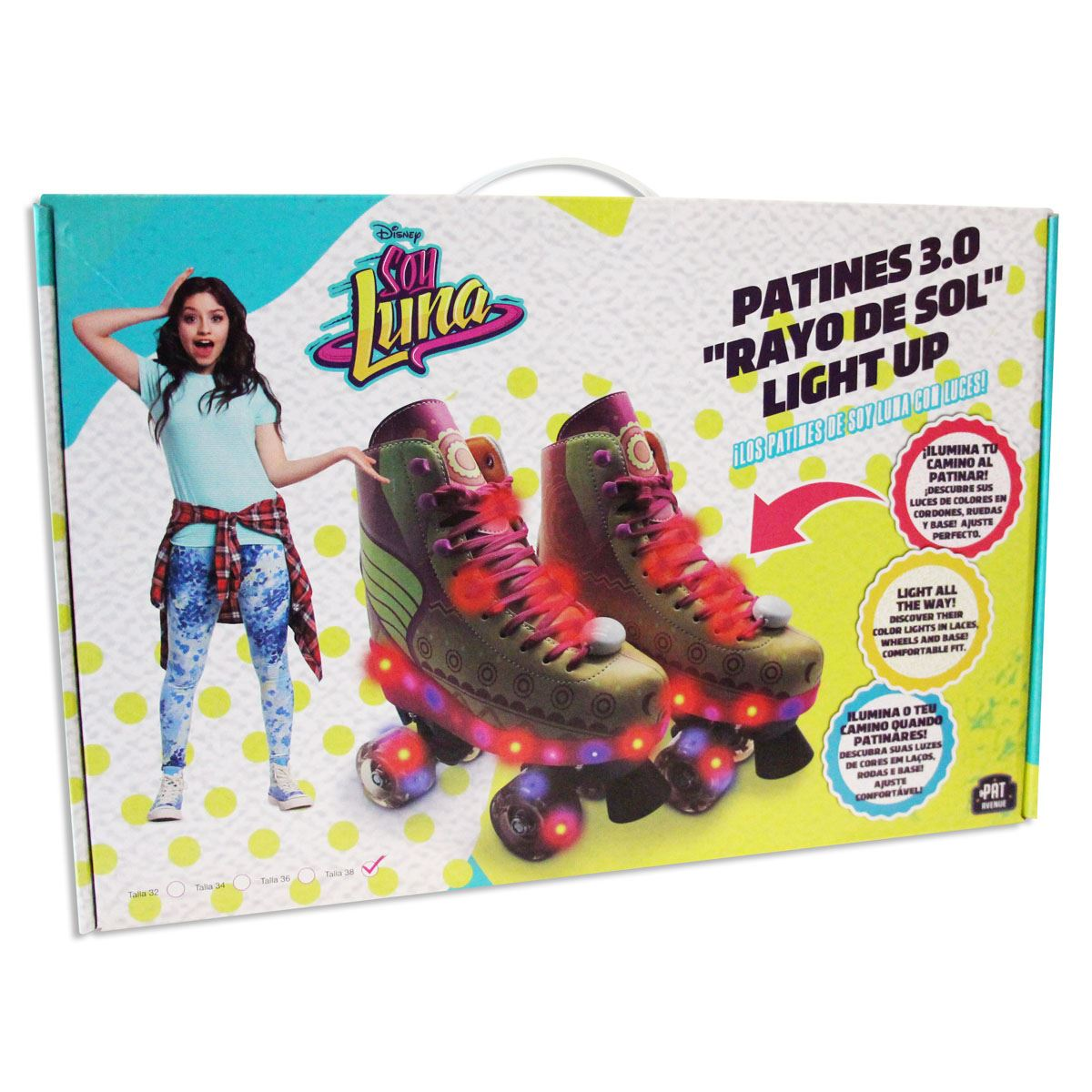 Patines 3.0 light up