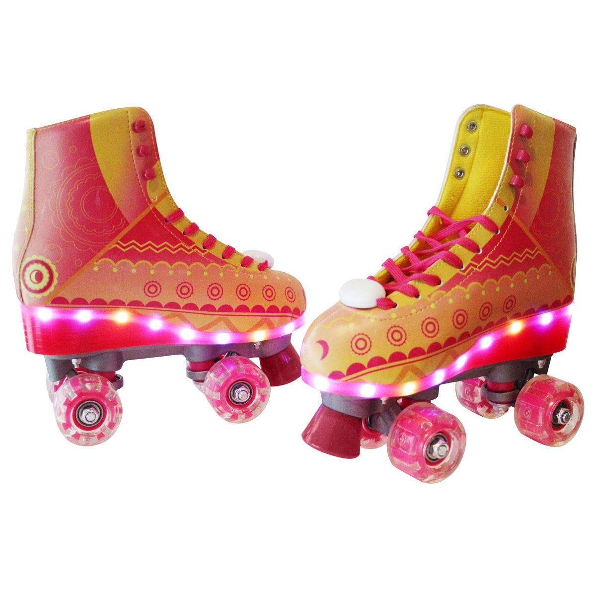"Patines 3.0 Light Up ""Rayo de Sol"" Talla -24"