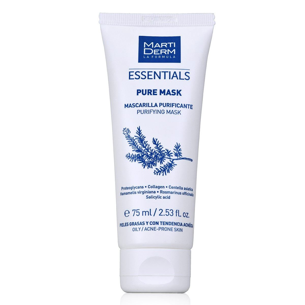 Md pure-mask pieles grasas y acnéicas-75 ml  - Sanborns