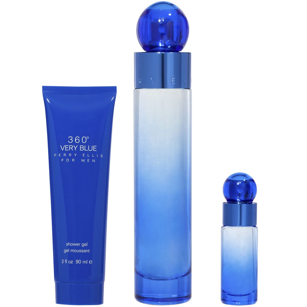 Set para Caballero 360° Very Blue Perry Ellis