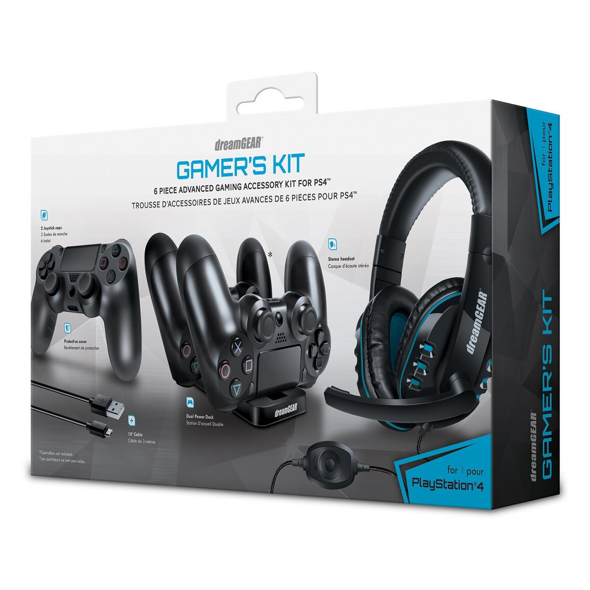 Gamer Kit Dreamgear para PlayStation 4