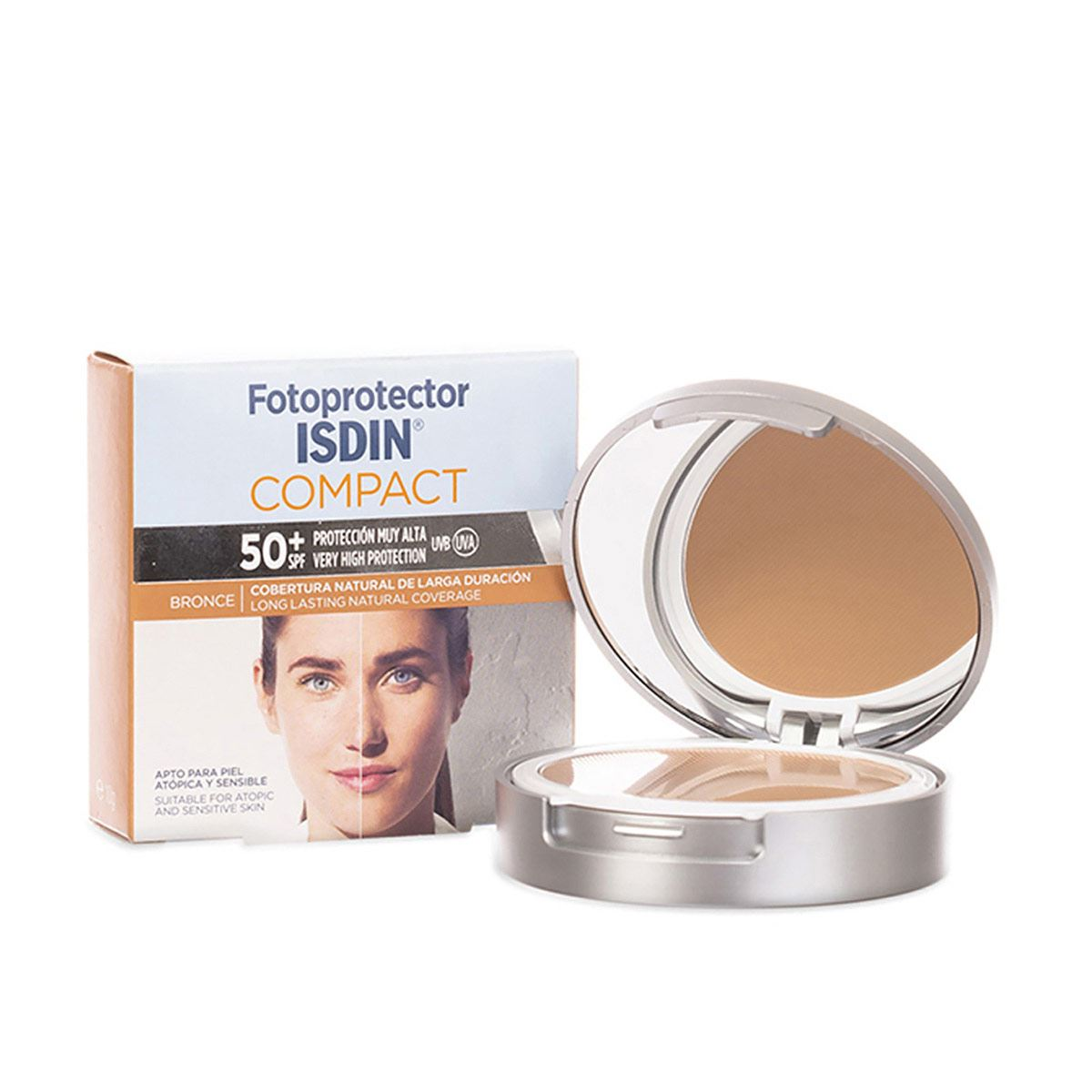 Fotoprotector Isdin Compact Bronce 50+ 10 gr