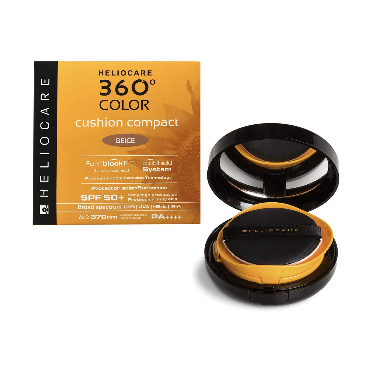 Heliocare 360° Color Cushion Maquillaje Compacto Beige 15gr