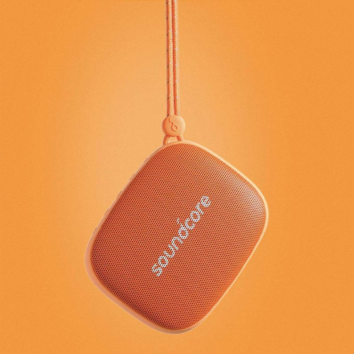 Bocina Inalámbrica Bluethooth Icon Mini Naranja