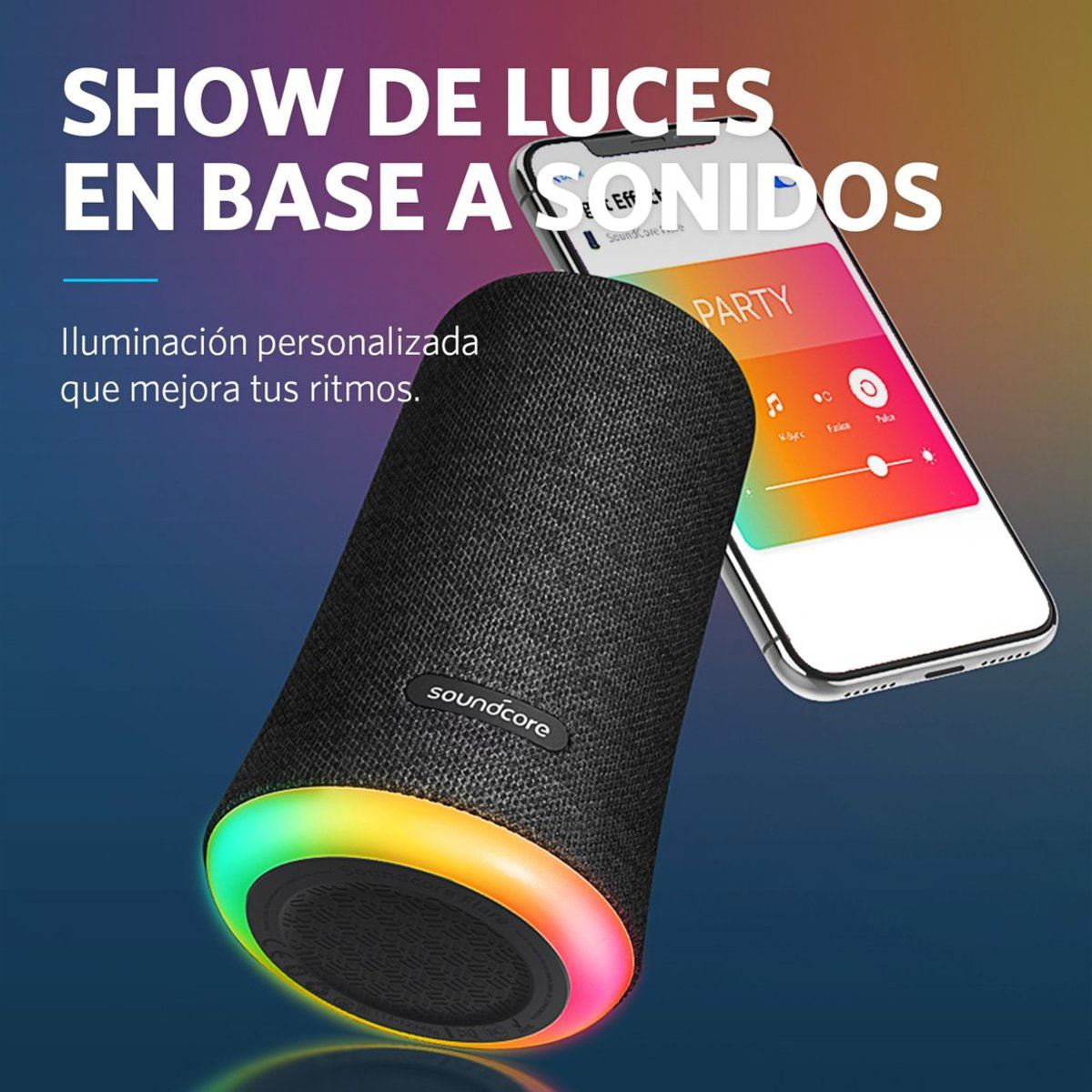 Bocina Inalámbrica Bluetooth Soundcore Flare