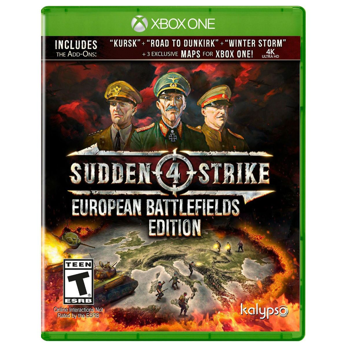 Sudden Strike 4 European Xbox ONE