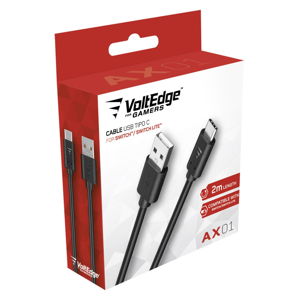 Cable USB VoltEdge Type C AX01 NSW