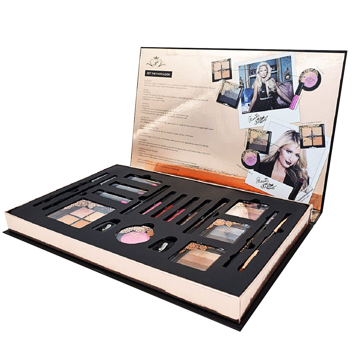 Estuche paris hilton make up big beauty box set  - Sanborns