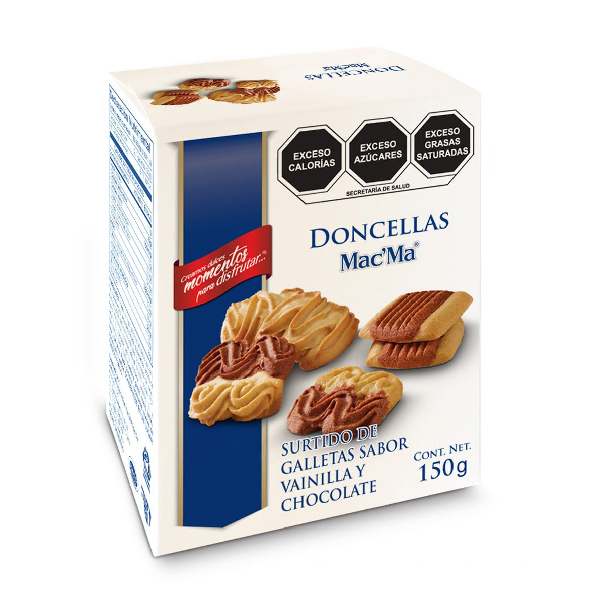 Galletas sabor Mantequilla Danesillas Mac' Ma 150g