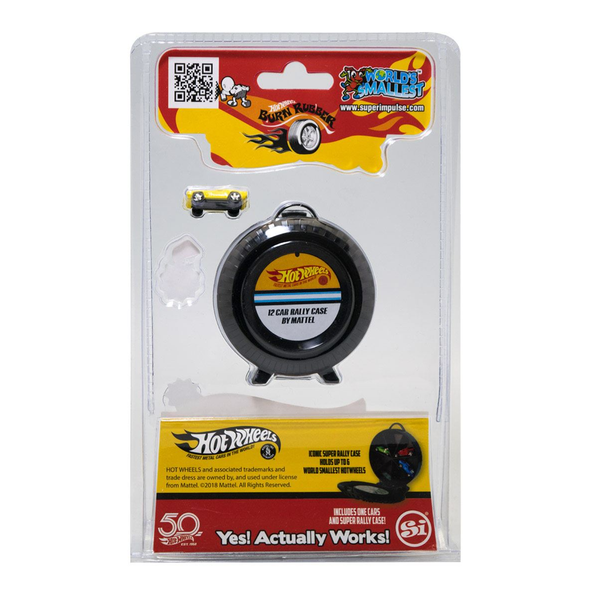 Mini World Super Rally Case Hot Wheel