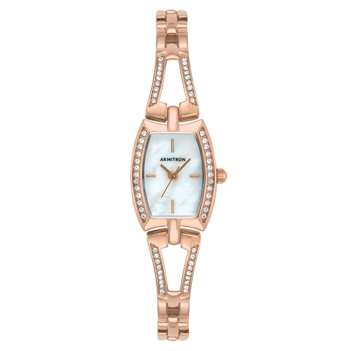 Reloj armitron dress dama 755502mprg  - Sanborns