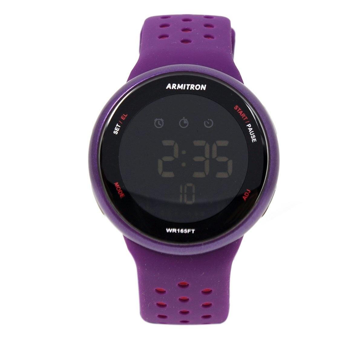 Reloj armitron 408423pur dama  - Sanborns