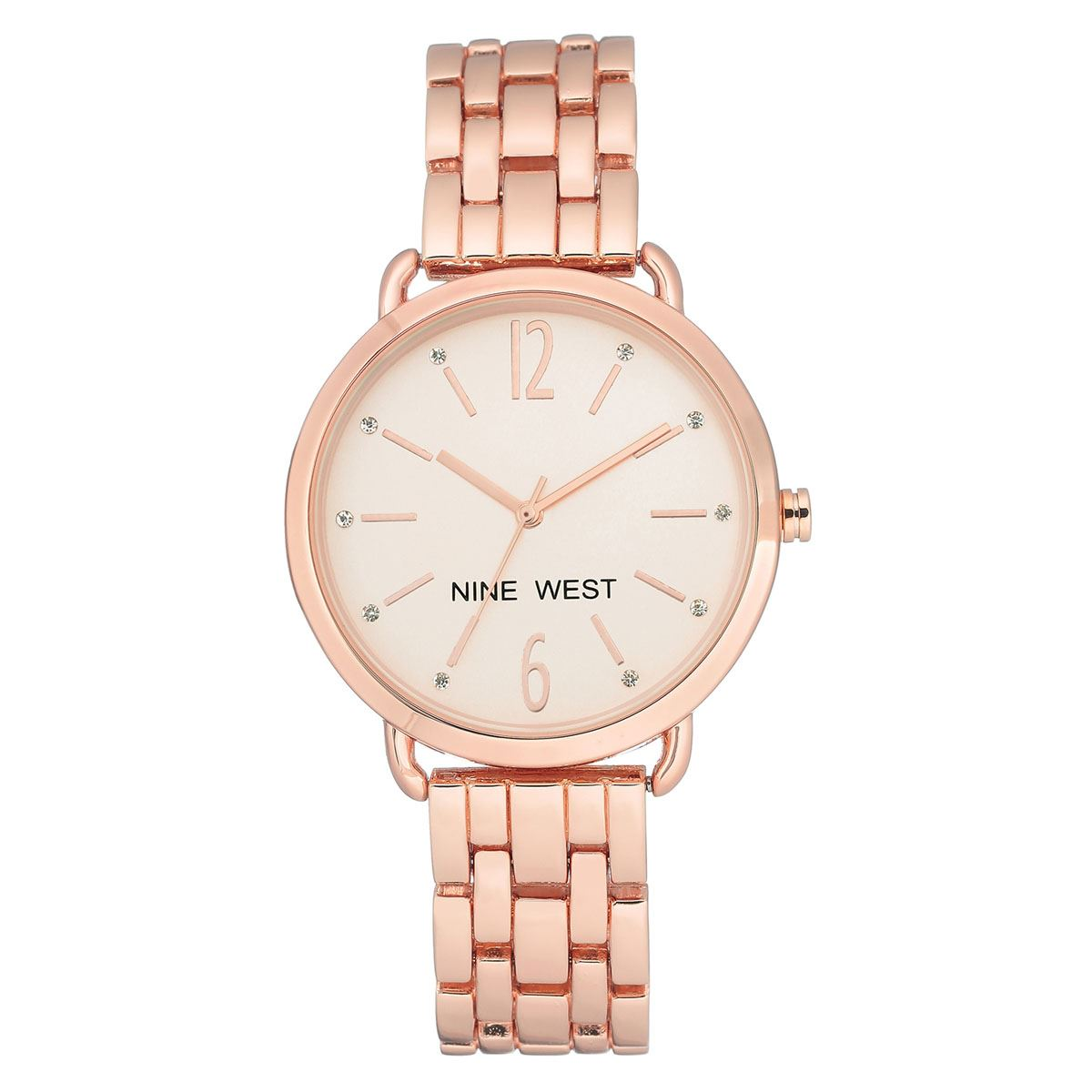 Reloj nine west nw2150rgrg dama  - Sanborns