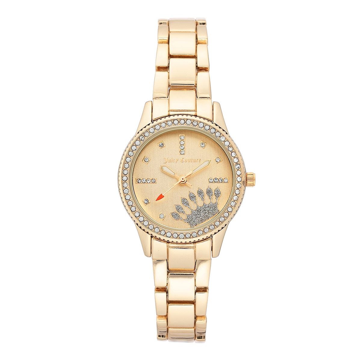 Reloj Juicy Couture Dorado JC1110CHGB Para Dama