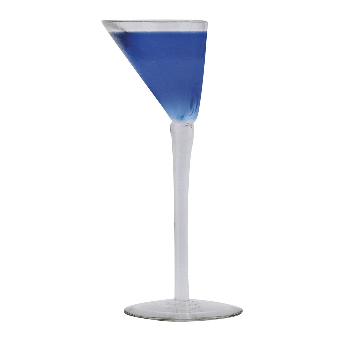 Happy Half Martini Glass