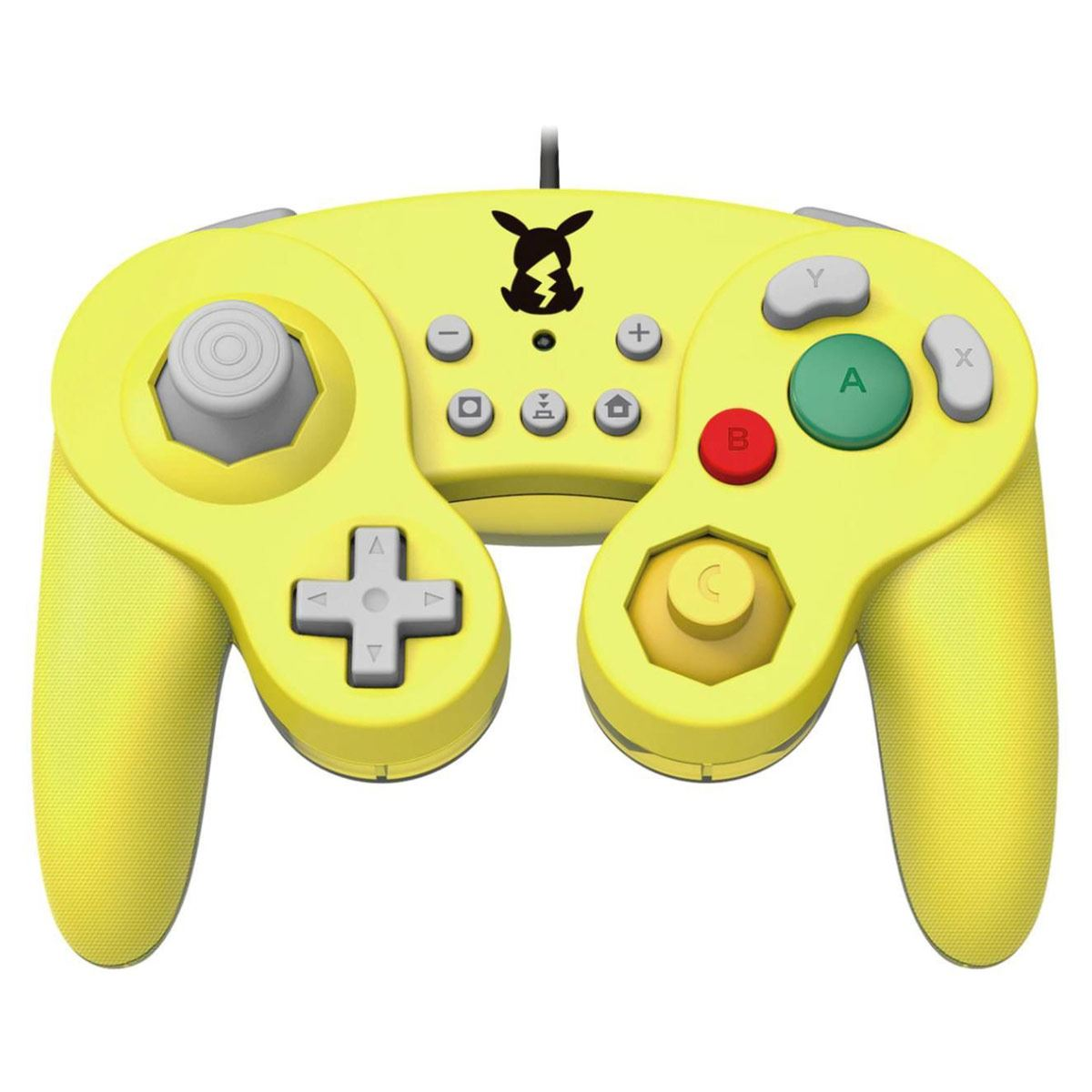 Control para Nintendo Switch Pikachu Battle Pad Amarillo