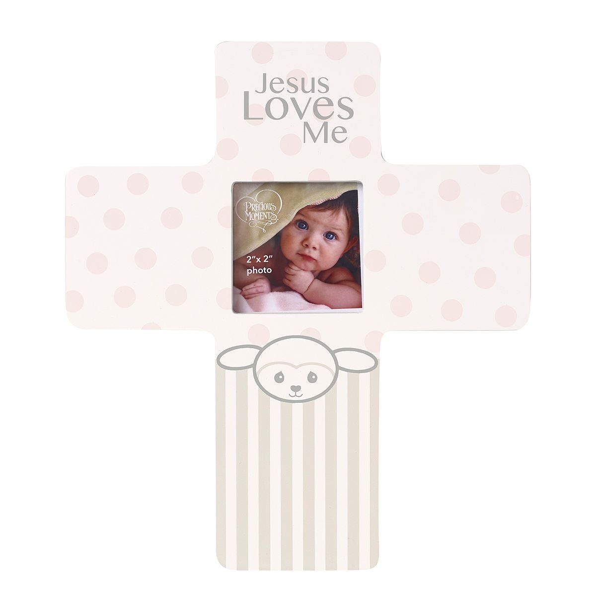 Precious lamb girl photo frame
