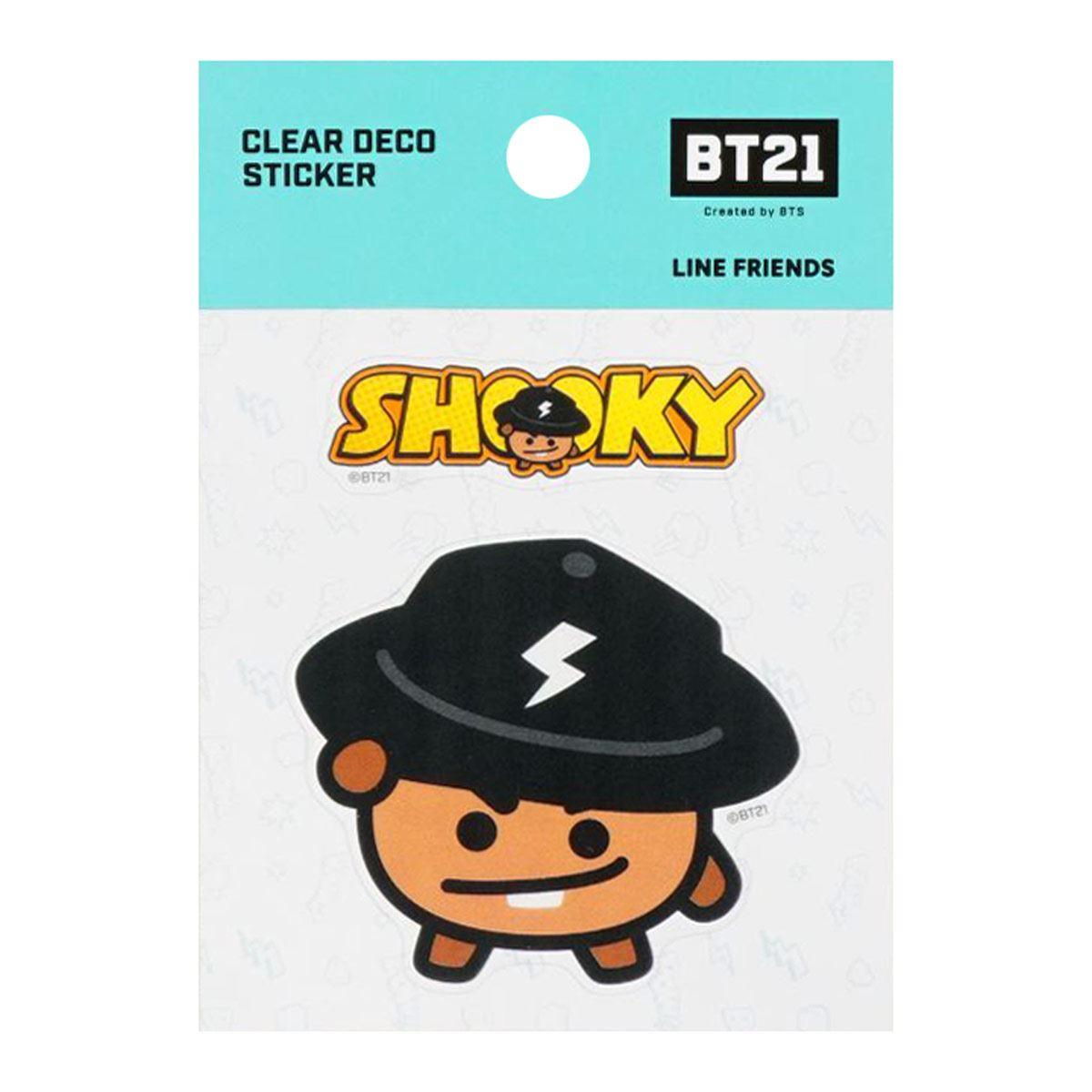 Sticker Transparente Personaje Shooky Línea BT21