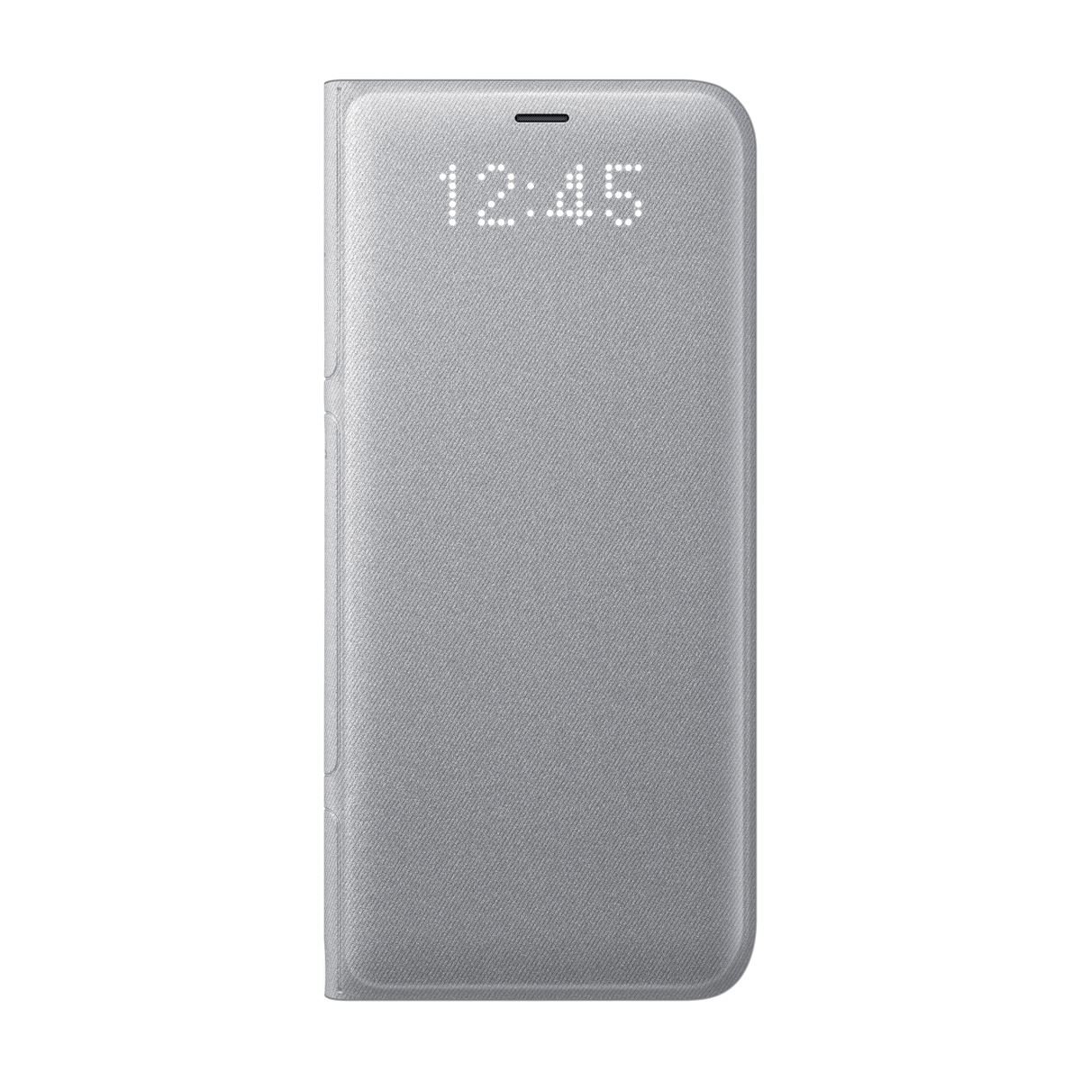 Funda s8 edge plata led view cover  - Sanborns
