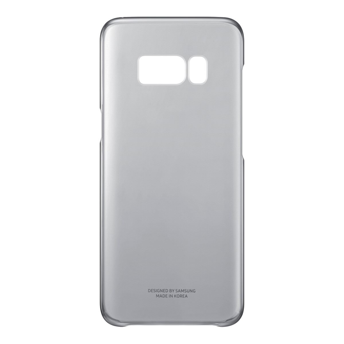 Funda s8 edge negro clear cover  - Sanborns