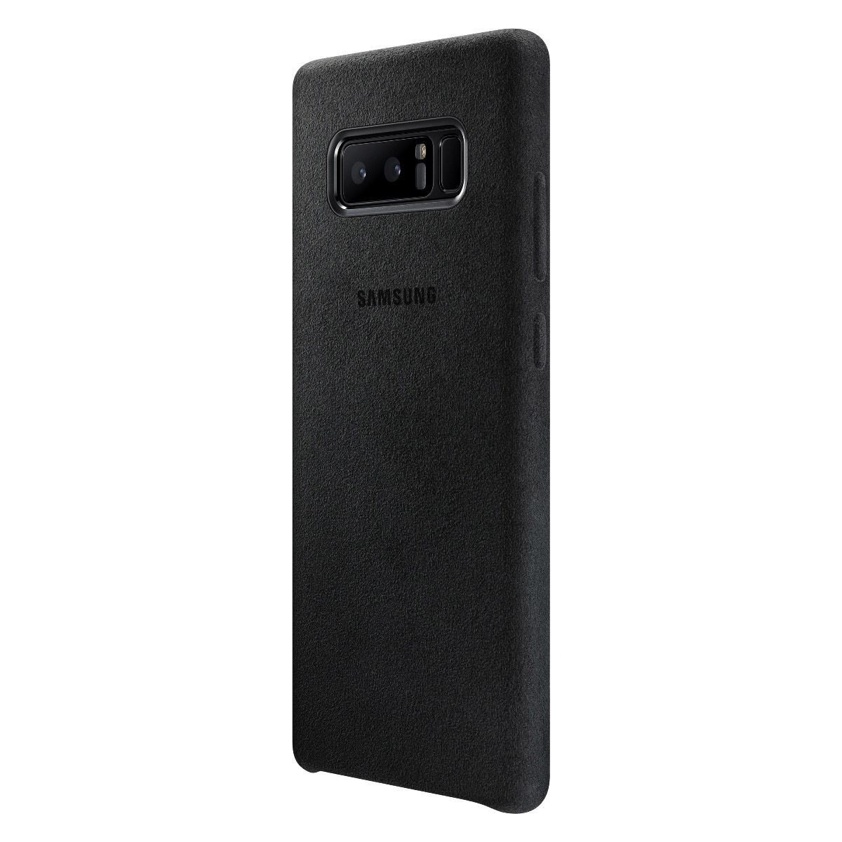 Funda alcantara cover note 8 negro  - Sanborns