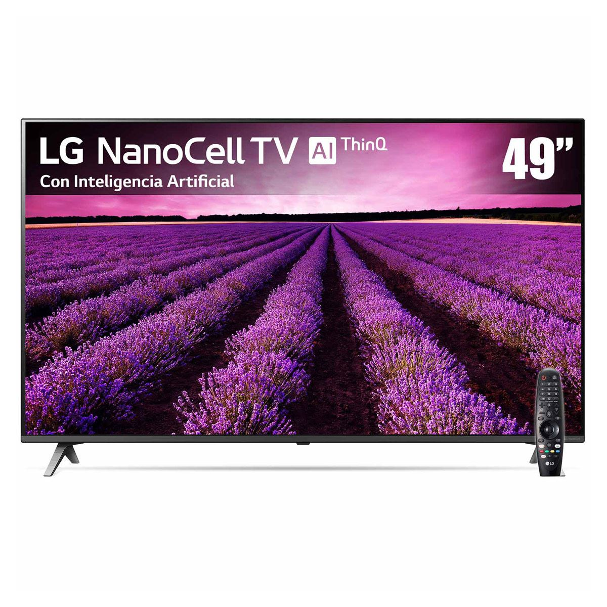 "Pantalla LG 49"" Nanocell TV AI ThinQ 4K 49SM8000"