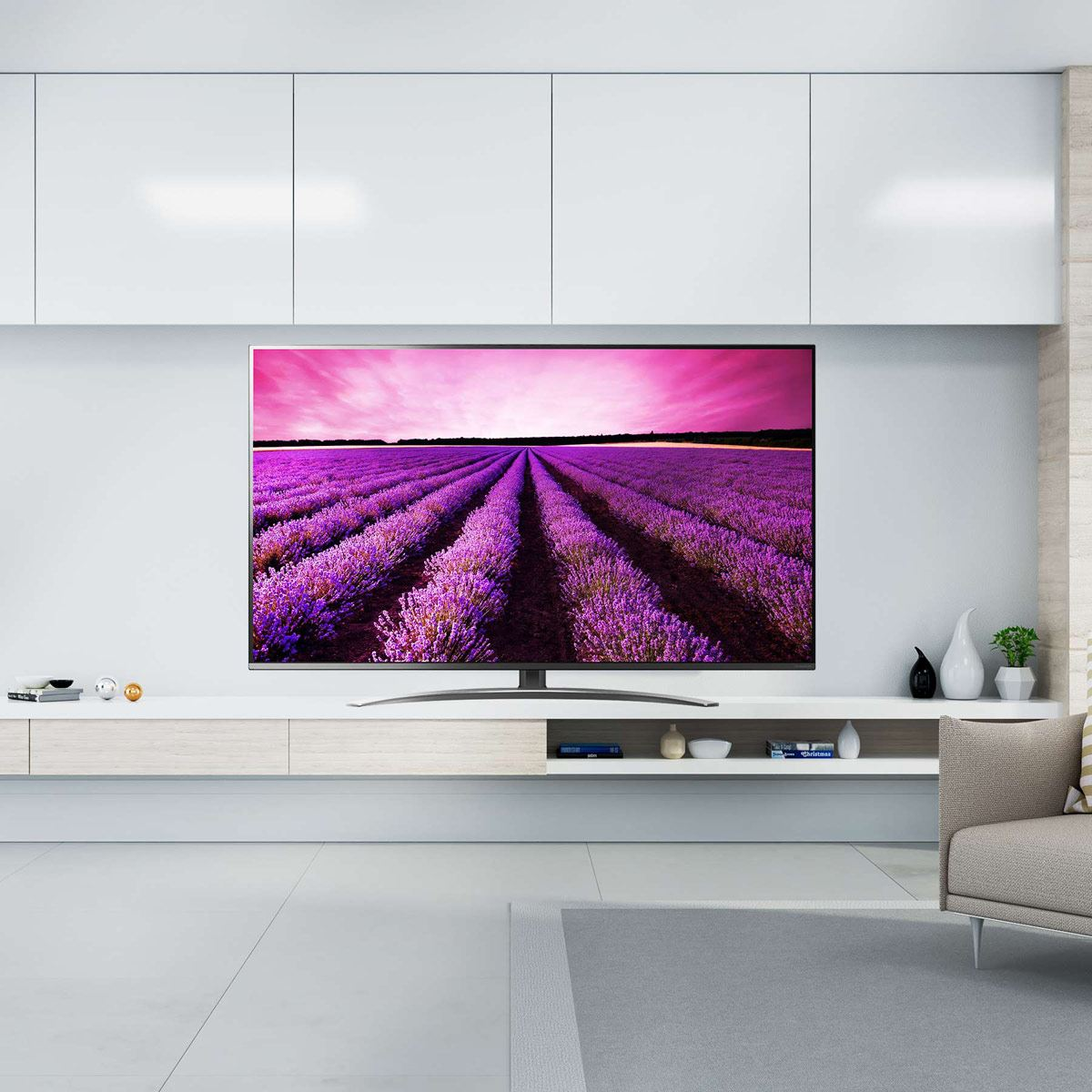 "Pantalla 55"" LG Nanocell TV AI ThinQ 4K 55SM8100"