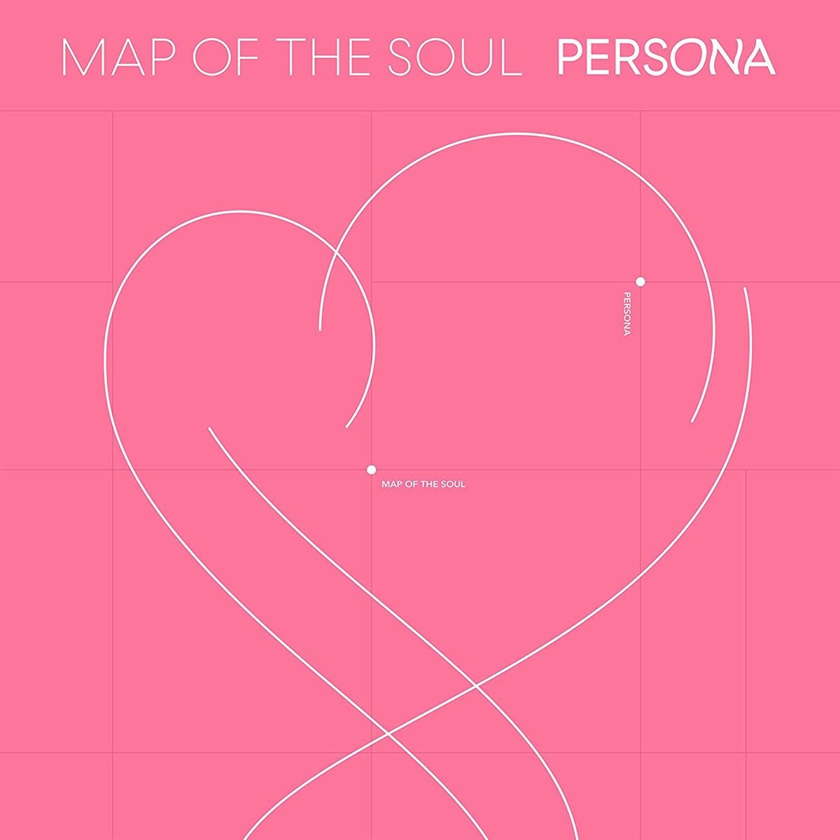 CD BTS Map of The Soul Persona