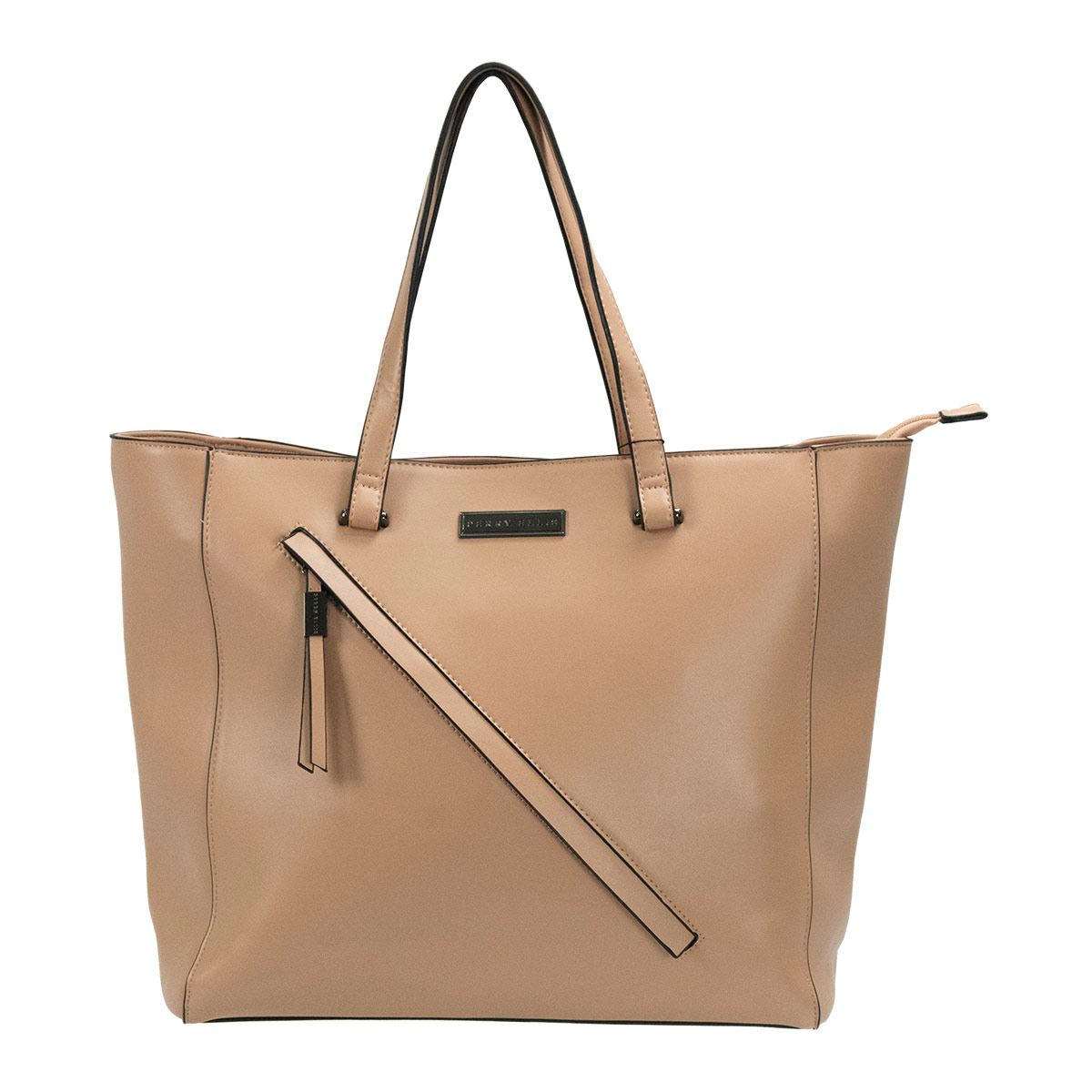 Bolso Tote Perry Ellis Color Blush Modelo A01884