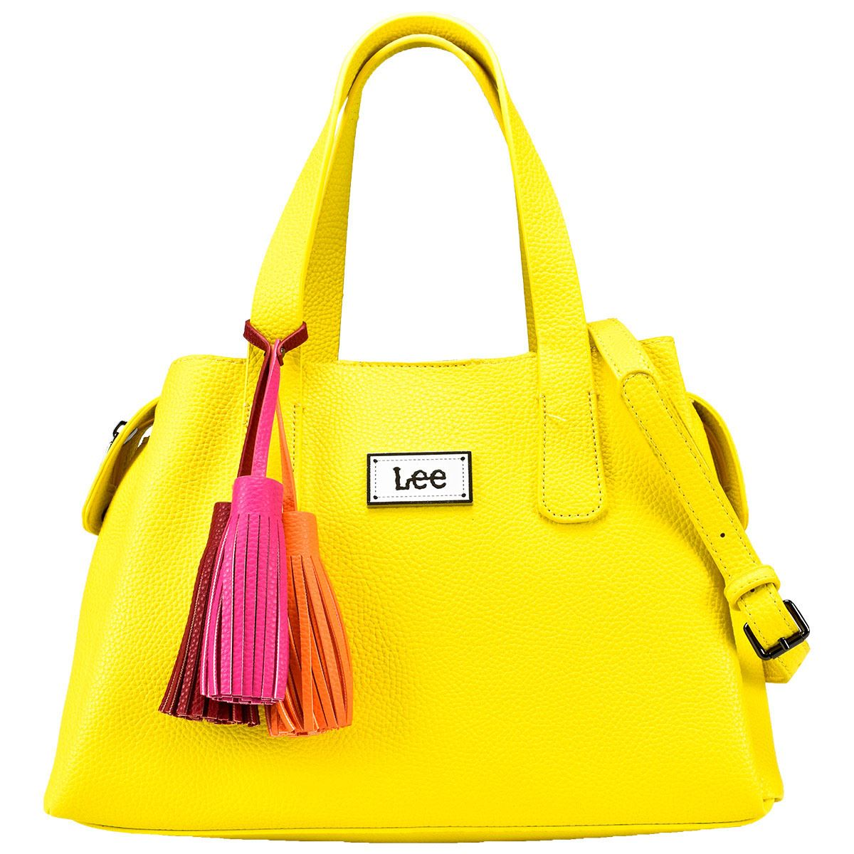 Bolso Bowling Lee Color Amarillo Modelo A01955