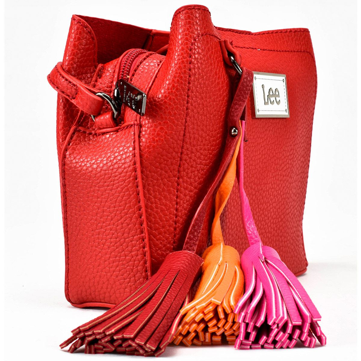Bolso Bucket Lee Color Rojo Modelo A01963
