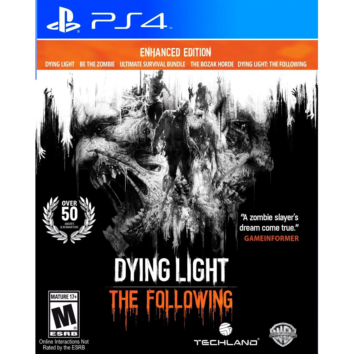 PS4 Dying Light The Following Enhan