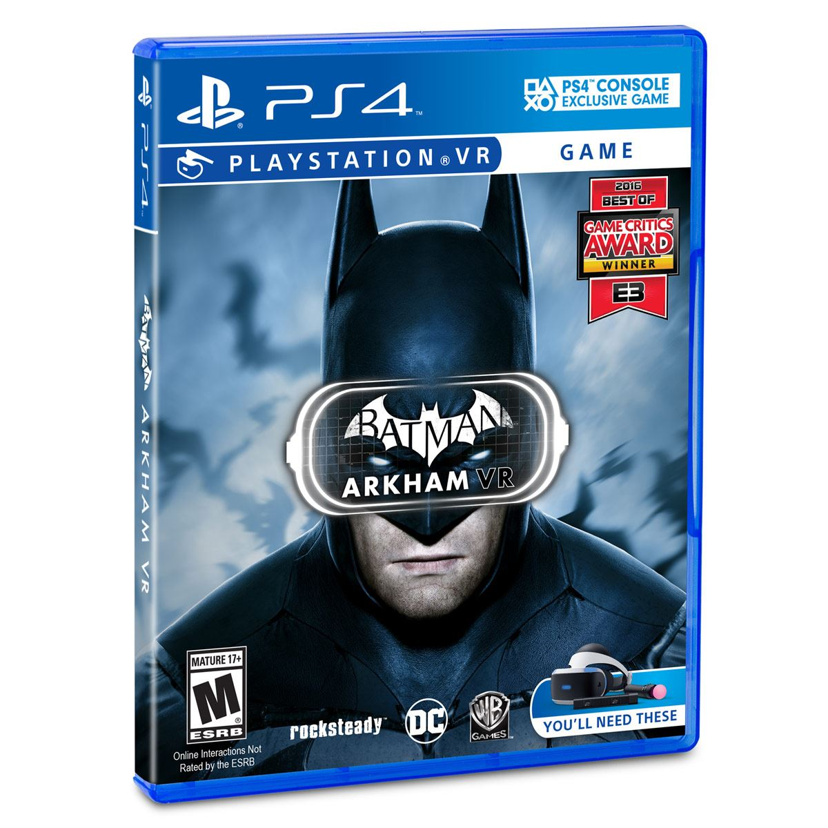 PS4 VR Batman Arkham