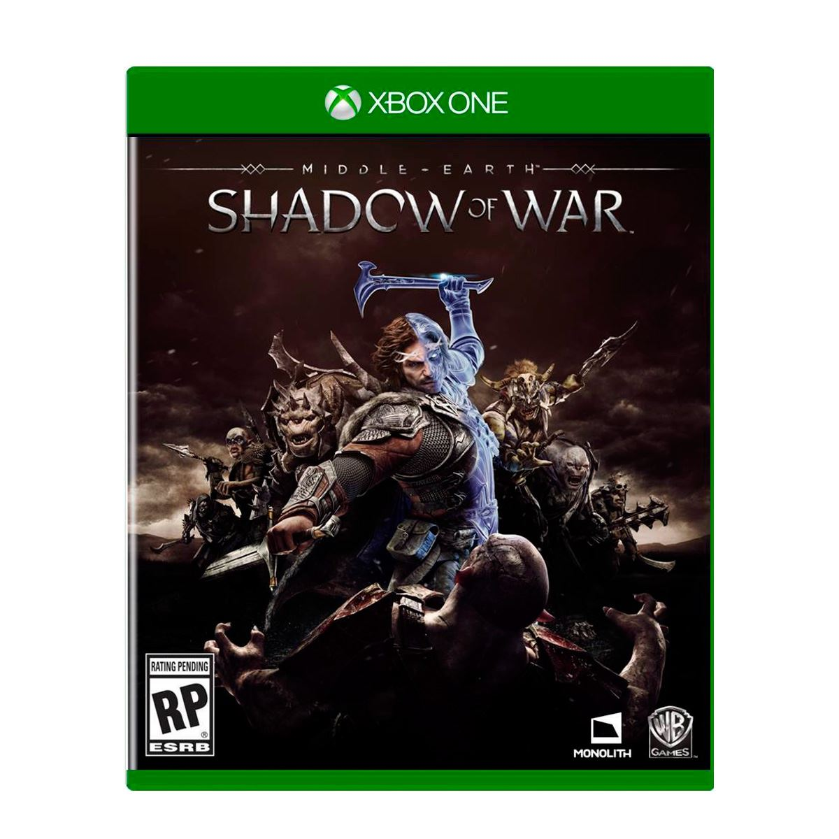 Xbox One Shadow Of War Middle Earth