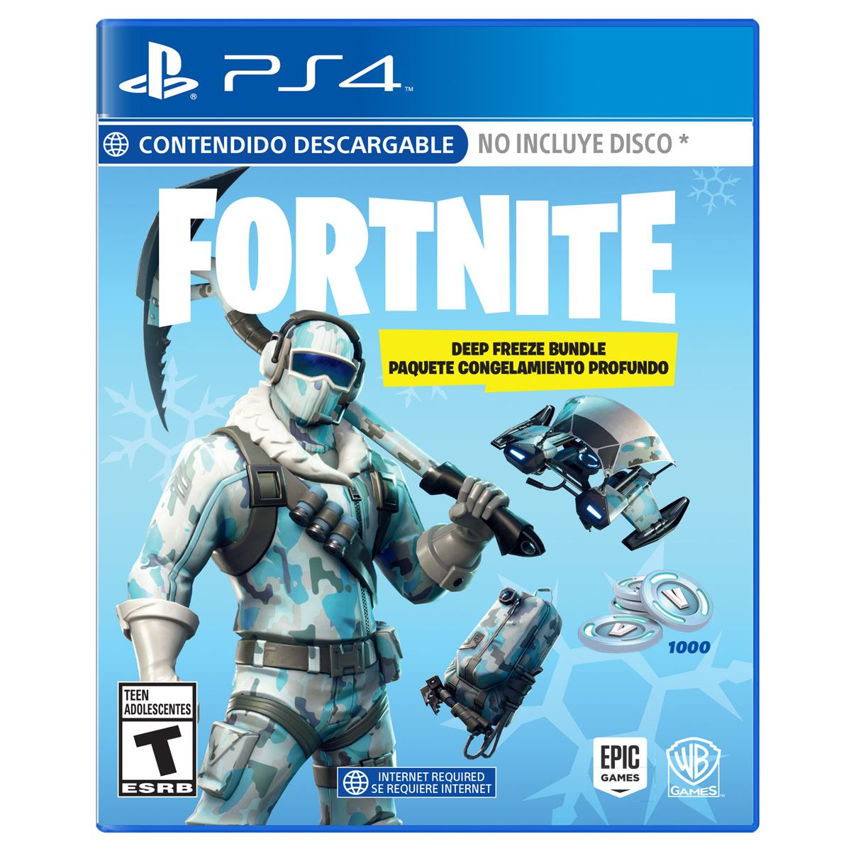 Ps4 fortnite deep freeze bundle  - Sanborns