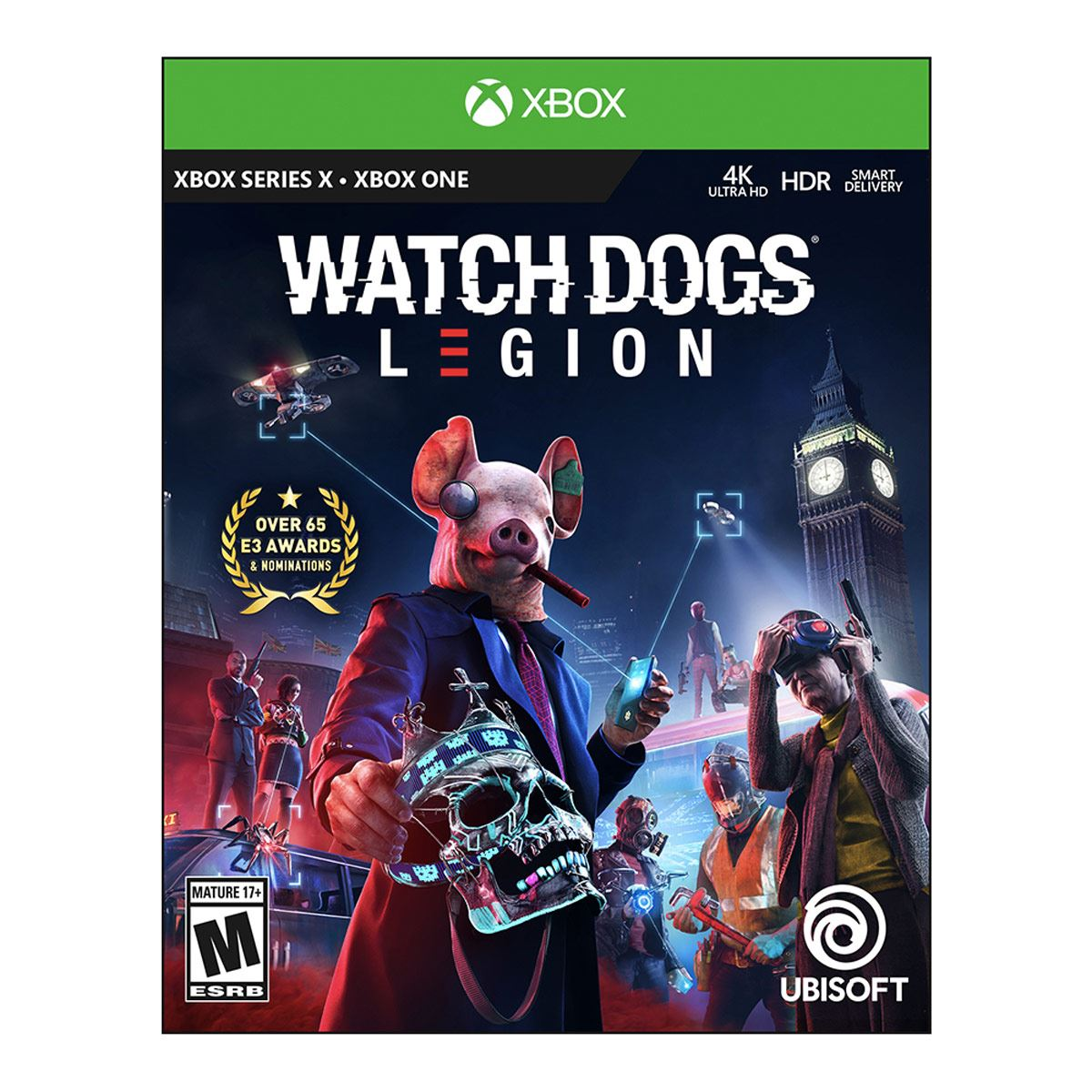 Xbox One Watch Dogs Legion Limited Edition
