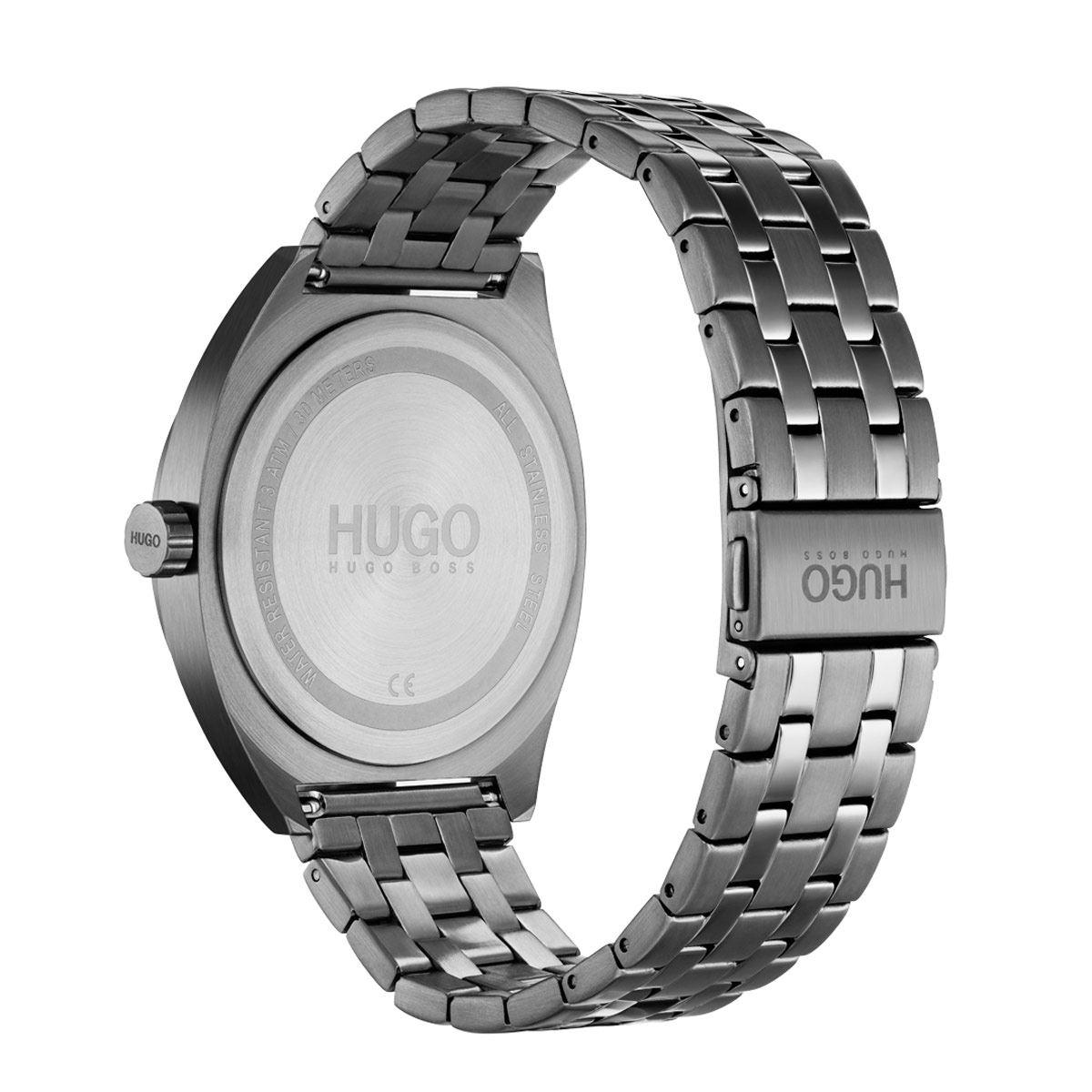 Reloj Hugo Gris 1530095 Para Caballero
