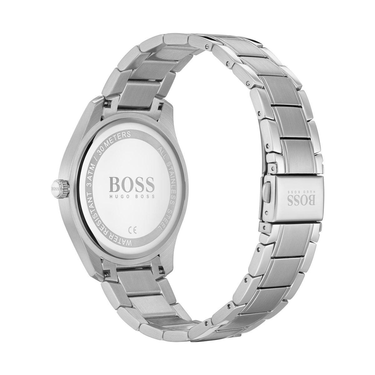 Reloj Boss Circuit Plateado 1513730 Para Caballero
