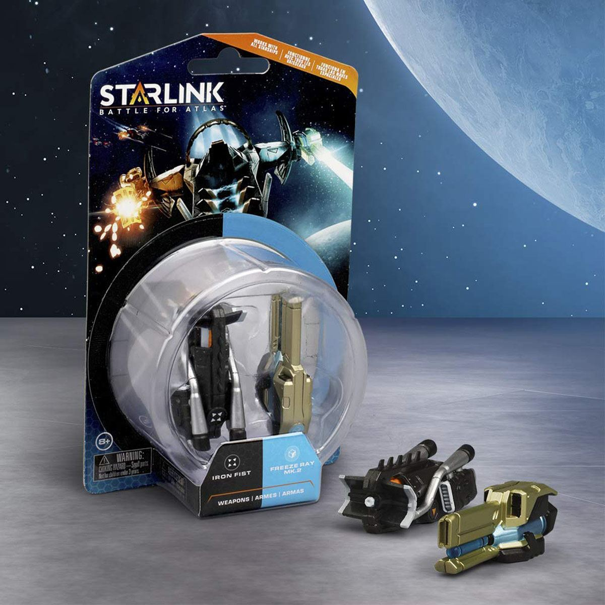 Starlink Iron Fist Weapon Pack MRC