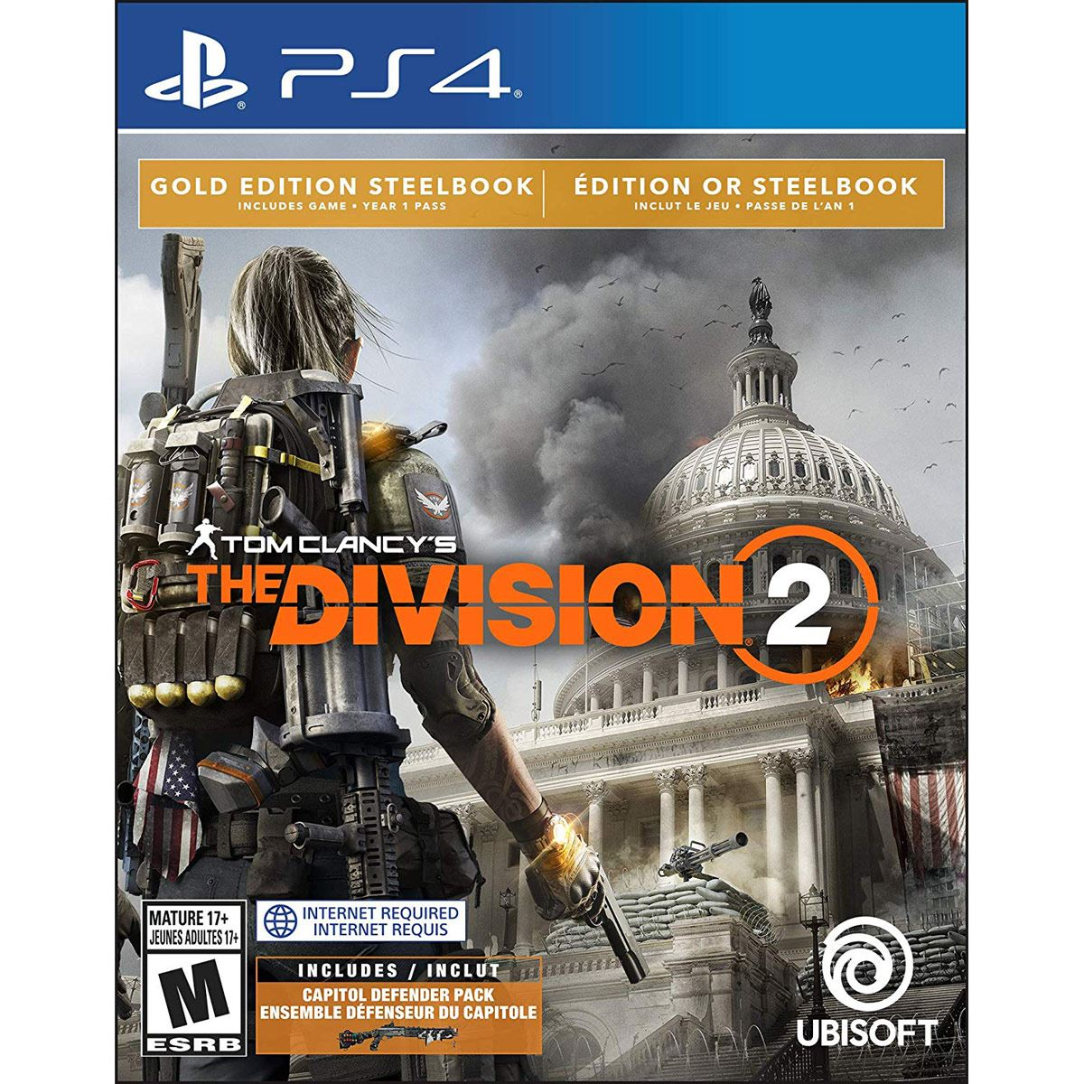 PS4 The Division 2 Gold