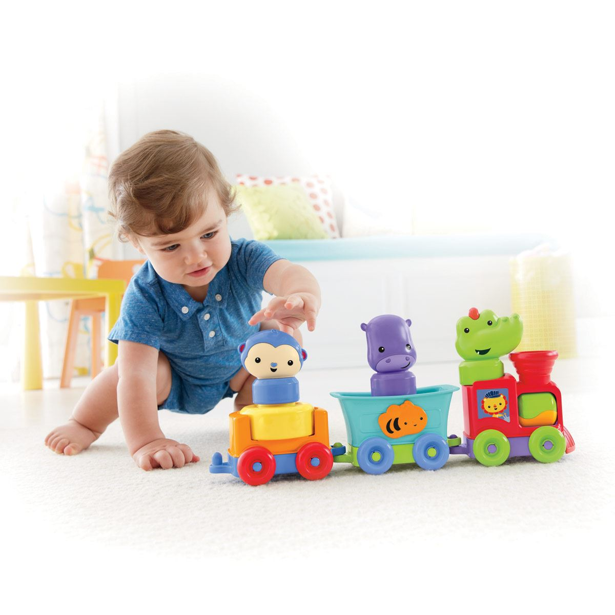 Silly Safari Tren Animales Dive Fisher Price