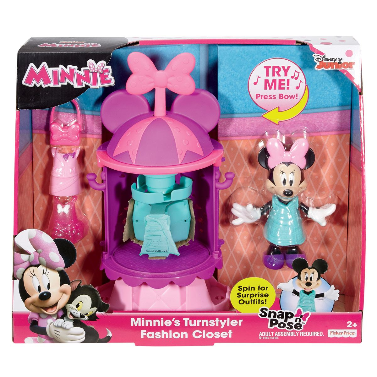Fisher Price Minnie Clóset Moda Mágica