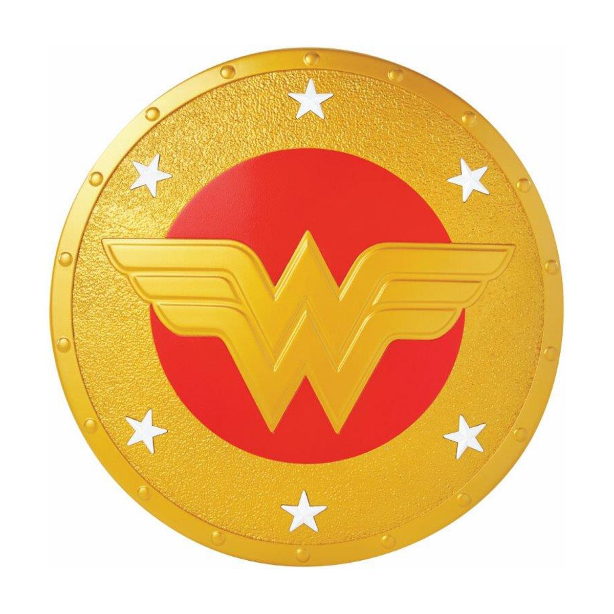 Dc super hero girls mujer maravilla escudo  - Sanborns