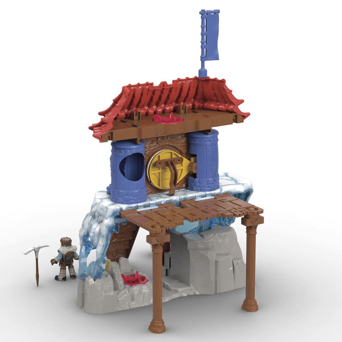 Fisher price imaginext templo misterioso del yeti  - Sanborns
