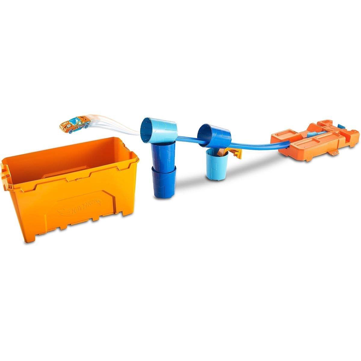 Hot Wheels Track Builder, Caja de Acrobacias