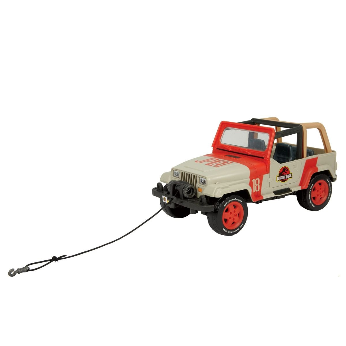 Jeep Wrangler  Jurassic World Matchbox