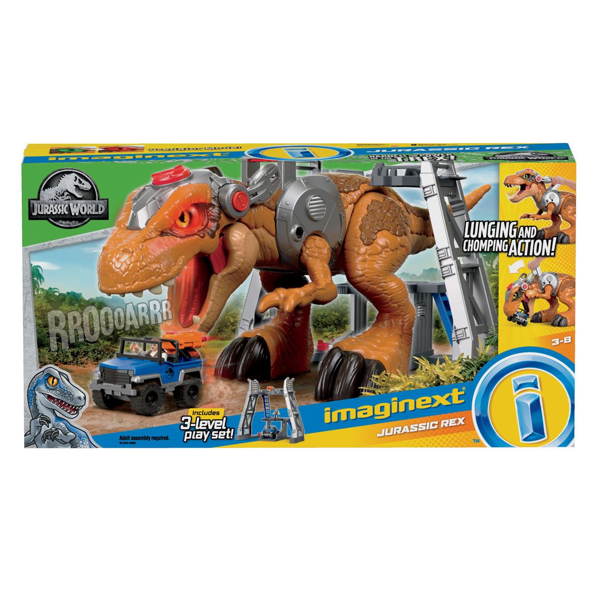 Fisher Price Imaginext Gran T.Rex