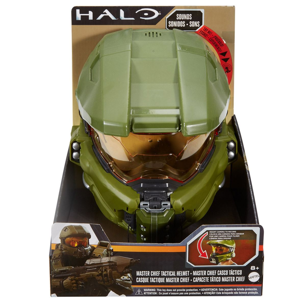 Halo master chief casco táctico  - Sanborns