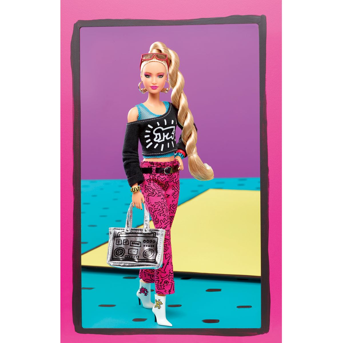 Barbie X Keith Haring